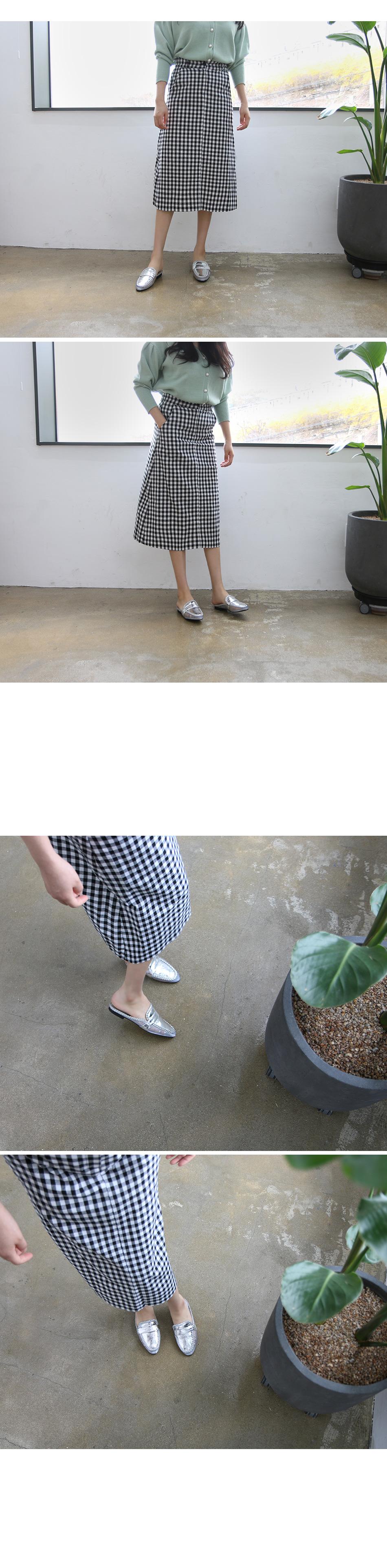 데코프 시스루 꼬임 블로퍼 착용컷