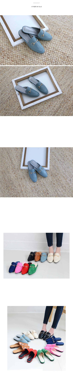 포덱스 골드장식 블로퍼 착용컷