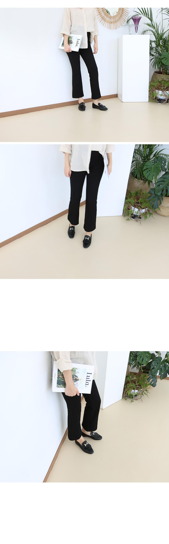 오테모 메탈장식 프린지 로퍼 착용컷
