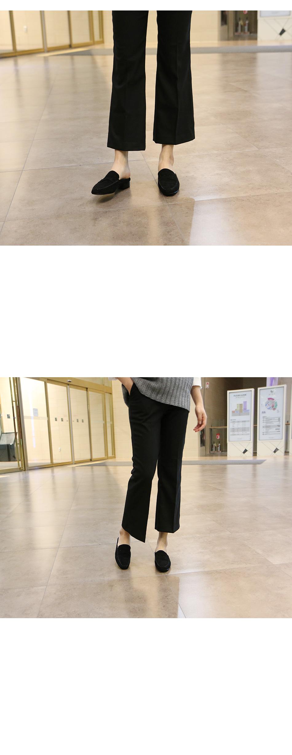 폴린 스웨이드 페니 블로퍼 착용컷