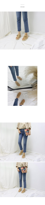 사포니 에스빠드류 슬리퍼 착용컷